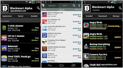 Blackmart Alpha Android İçin En İyi Play Store Benzeri Market Uygulamaları
