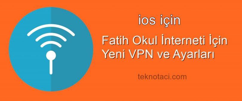 ios fatih internetine bağlanma