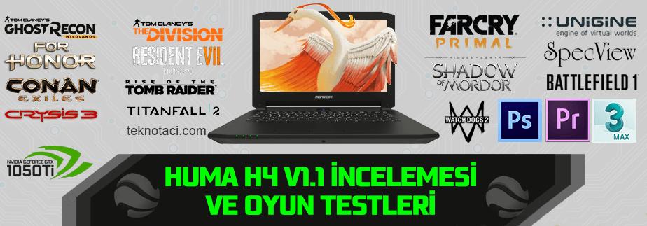 Monster HUMA H4 V1.1 İnceleme ve Teknik Özellikleri