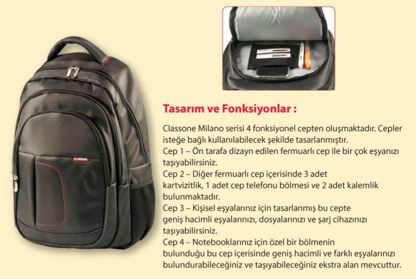 cassone bp-l100 çanta özellikleri