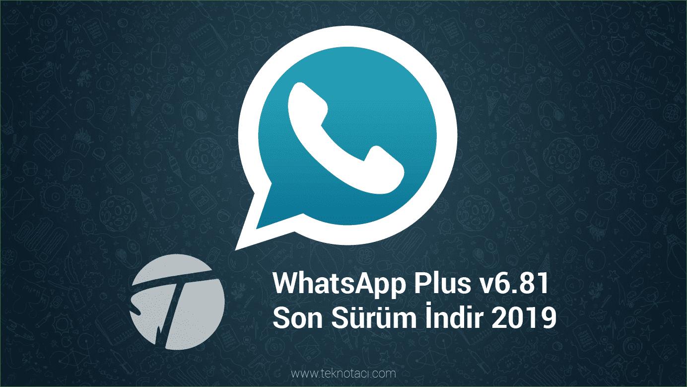 Photo of WhatsApp Plus Full APK İndir v7.96 – 2019 (Resmi Son Sürüm)