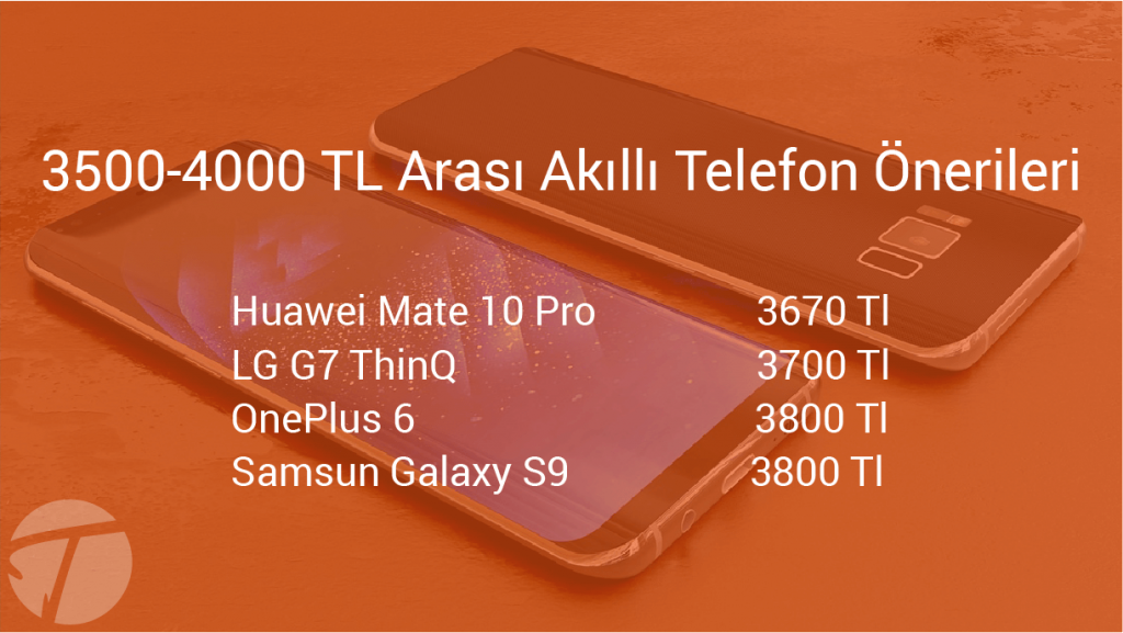 3500-4000 tl arası telefon önerileri