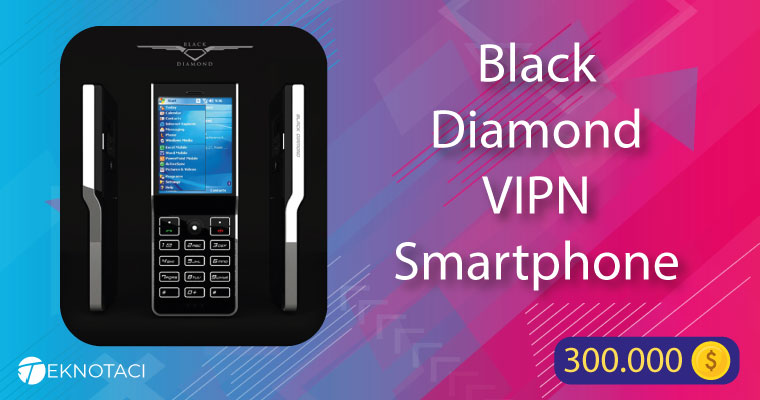 Black Diamond VIPN Smartphone