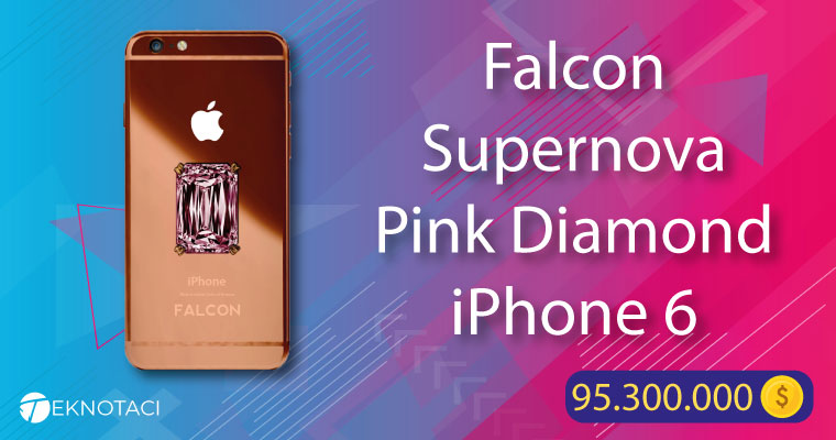 Falcon Supernova Pink Diamond iPhone 6
