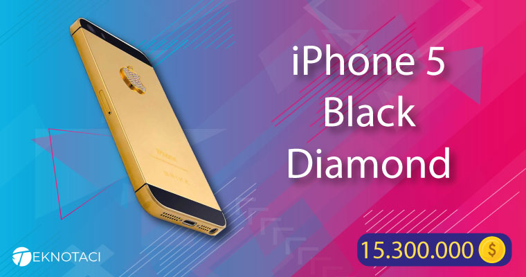iPhone 5 Black Diamond