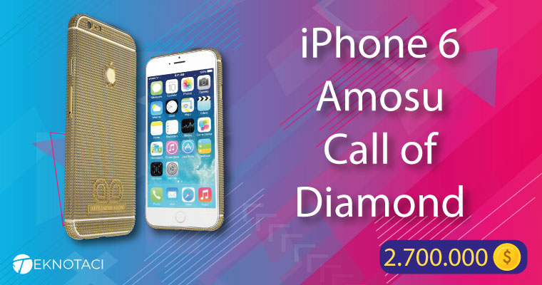 iPhone 6 Amosu Call of Diamond