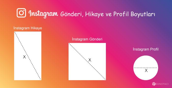 instagram gönderi boyutları