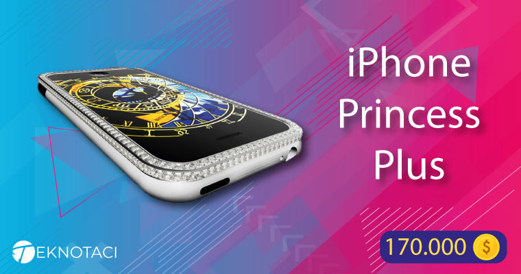 iphone princess plus akıllı telefon