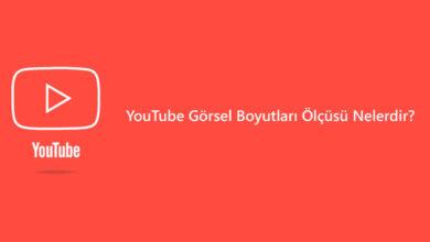 youtube görsel boyutları
