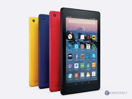 Amazon Fire 7 Tablet - En Ucuz Android Tabletler