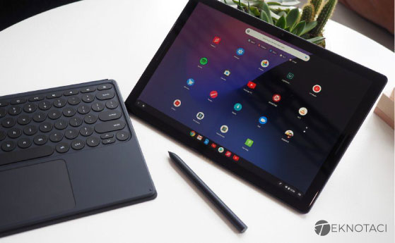 n İyi Chrome OS Android Tablet - Google Pixel Slate