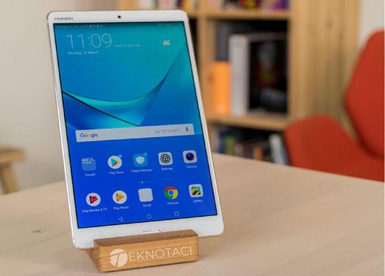 En Ucuz Küçük Android Tabletler - Huawei Mediapad M5