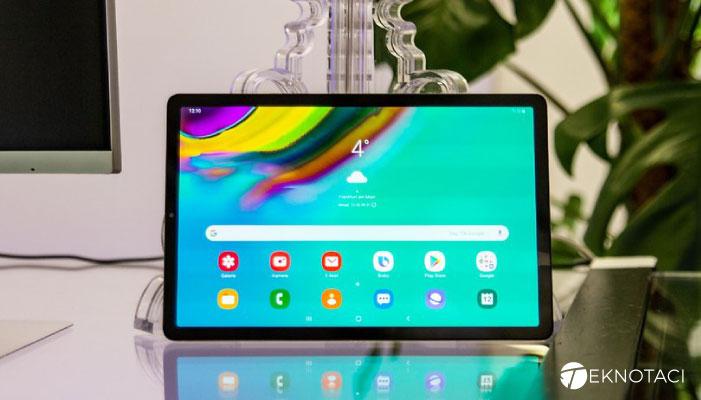 Samsung Galaxy Tab S5e - En İyi Android Tabletler