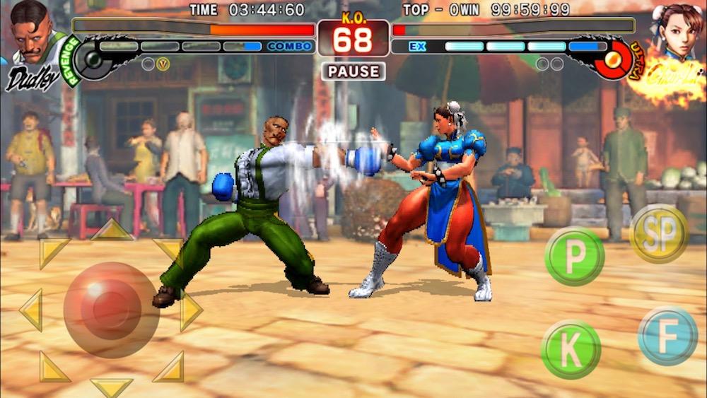 Street Fighter 4 Mobil Dövüş Oyunu