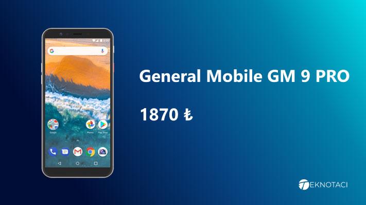 2000 Tl Telefon Tavsiyesi - General Mobile