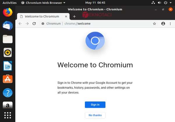 Chromium Web Tarayıcısı