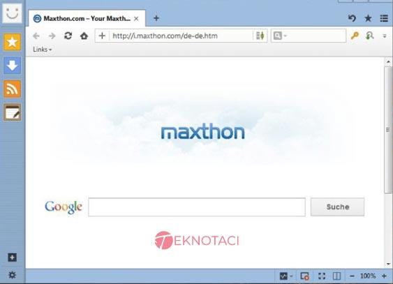Maxthon web tarayıcı