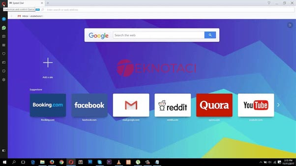 Opera Web Tarayıcısı