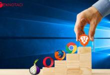 En Hızlı Windows Web Tarayıcıları
