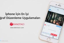 İos İçin Fotoğraf Düzenleme Uygulamaları - İphone Resim Düzenleme Uygulamaları - En İyi İphone Resim Düzenleme Programları