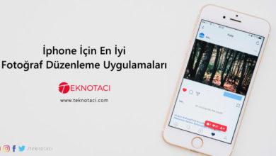 Photo of İPhone İçin En İyi 10 Fotoğraf Düzenleme Uygulamaları