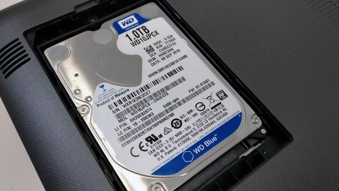 Lenovo Ideapad 510 Depolama HDD