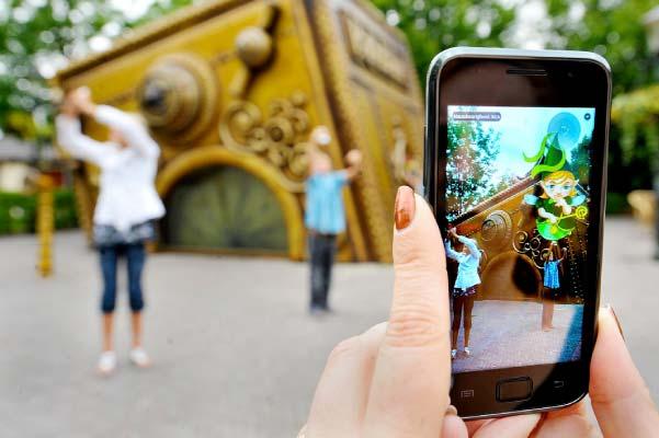 Mobil Arttırılmış Gerçeklik AR Oyunları