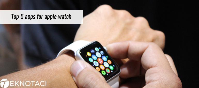 Apple watch uygulamaları