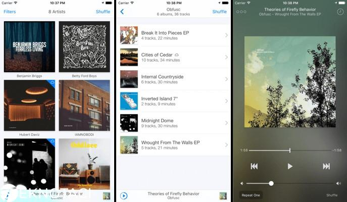 Ecoute – Beautiful Music Player