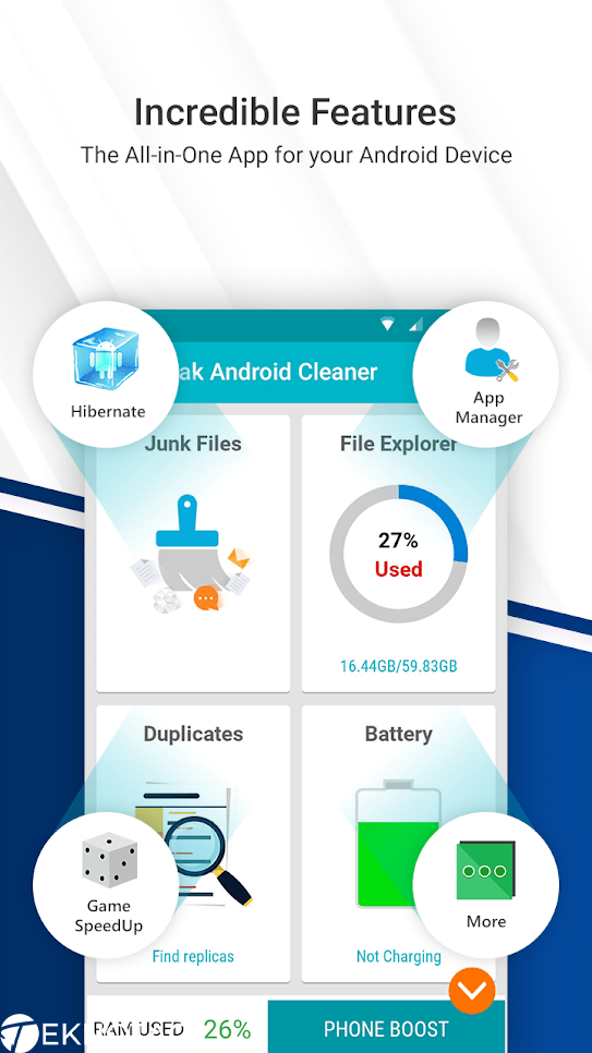 Cleaner For Android-Best ad-Free Cleaner