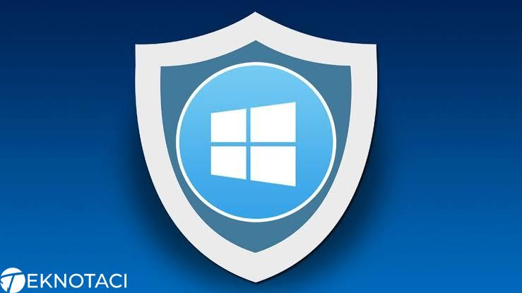 Windows 10 Defender Kalıcı Olarak Silme, Durdurma ve Kaldırma