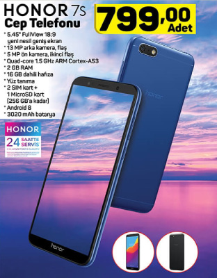 A101 HONOR 7S