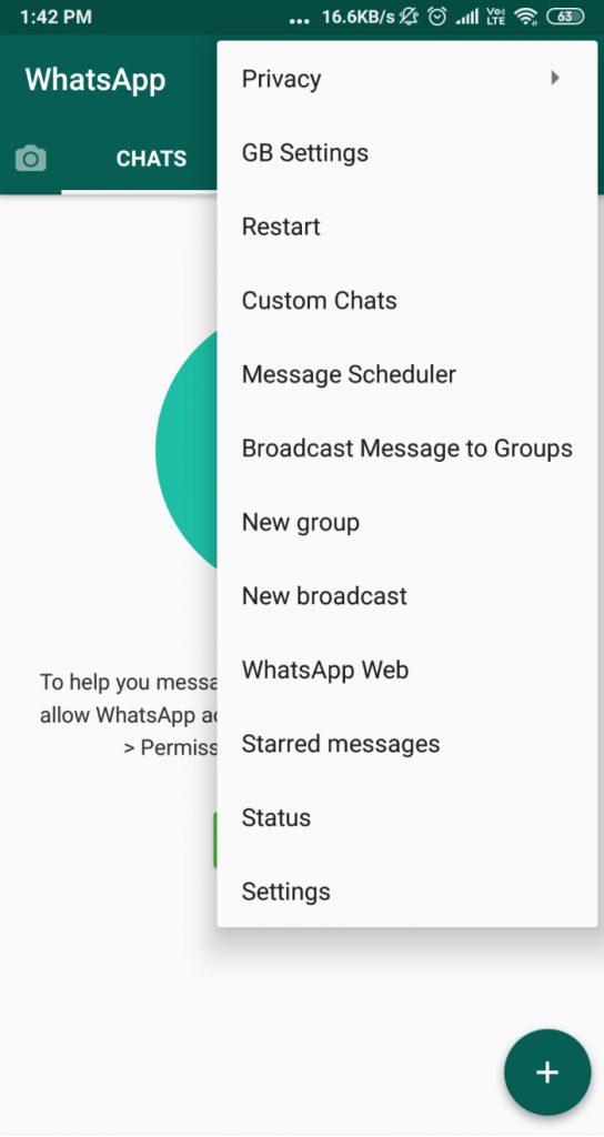 gbwhatsapp uygulaması