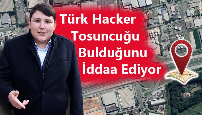 mehmet Aydın'ın konumunu belirlediğini söyleyen hacker