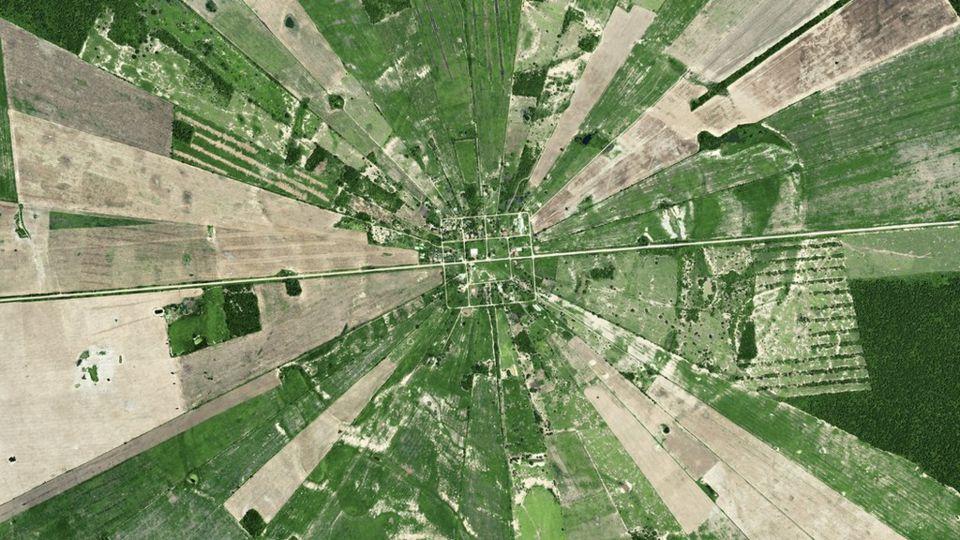Bolivya da Bir Arazi
