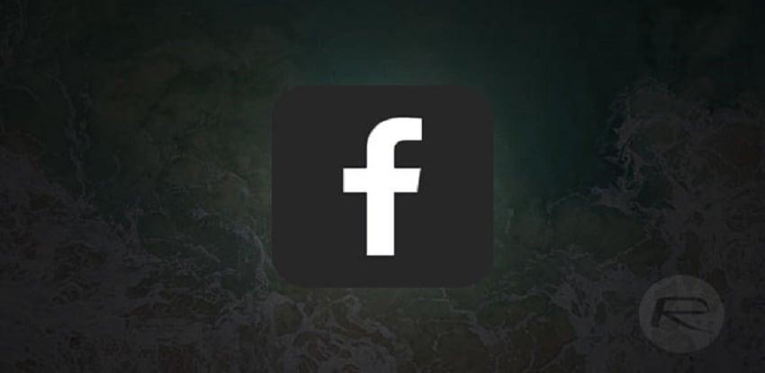 Facebook Lite Karanlık mod
