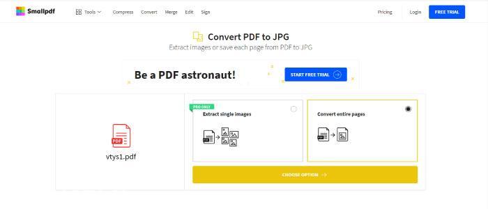 Pdf'i Jpg'ye Dönüştürme