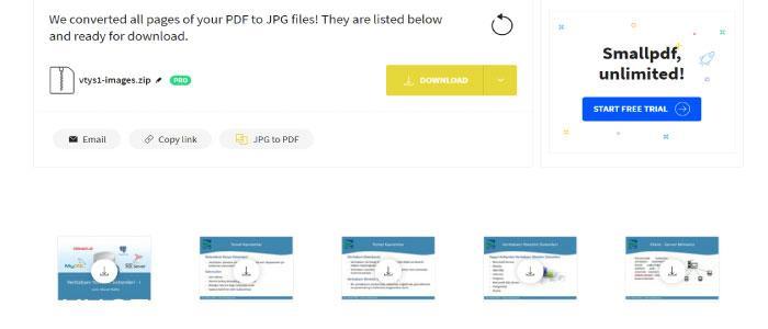 Pdf dosyalarını jpg resimlerine çevirmek