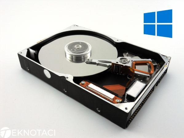 Windows 10 Disk Temizliği