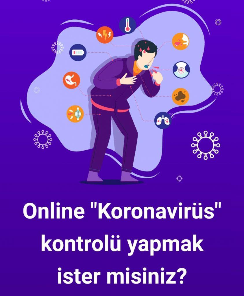 Online Koronavirüs Kontrolü