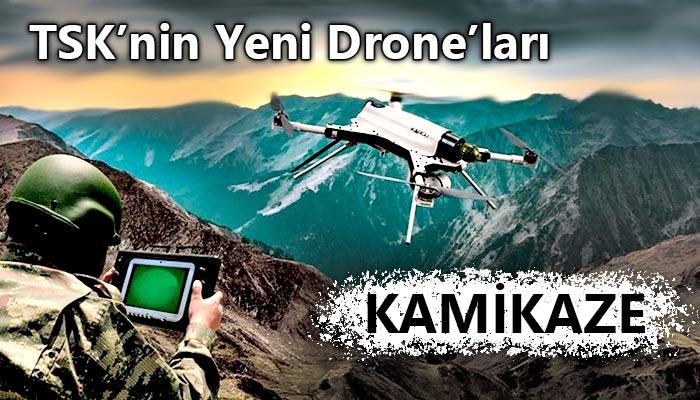 kamikaze dronelar