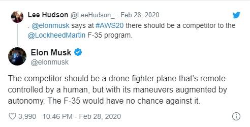 elon musk'ın tweeti