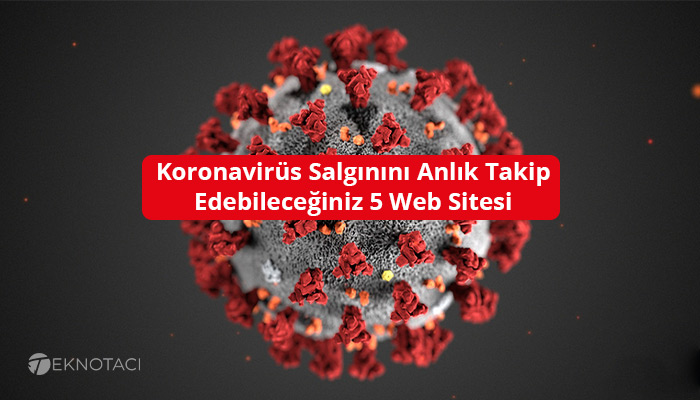Koronavirüs Salgınını Anlık Takip Edebileceğiniz 5 Web Sitesi