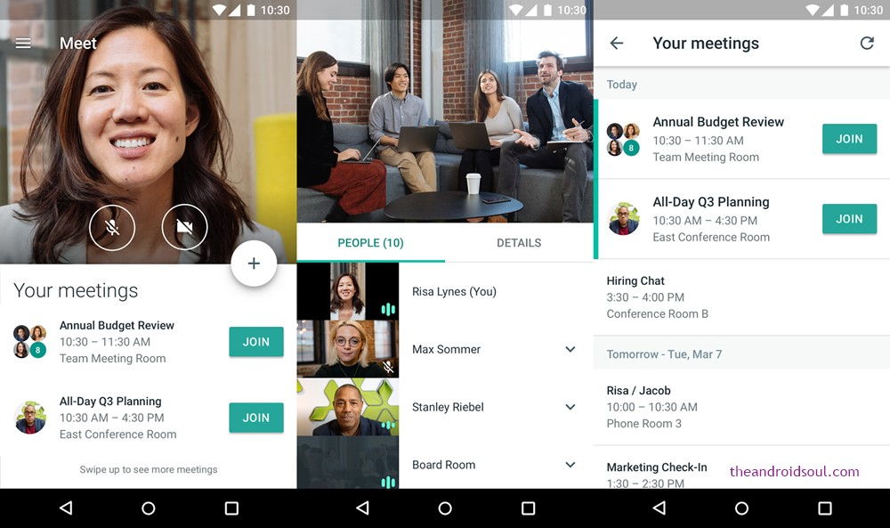 Hangouts Meet by Google
