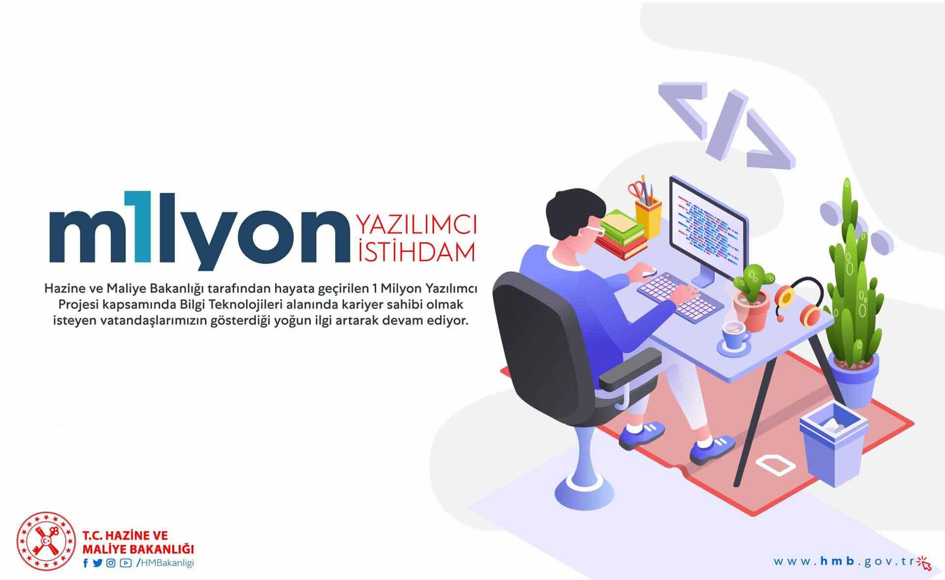 1 milyon yazılımcı genç projesi
