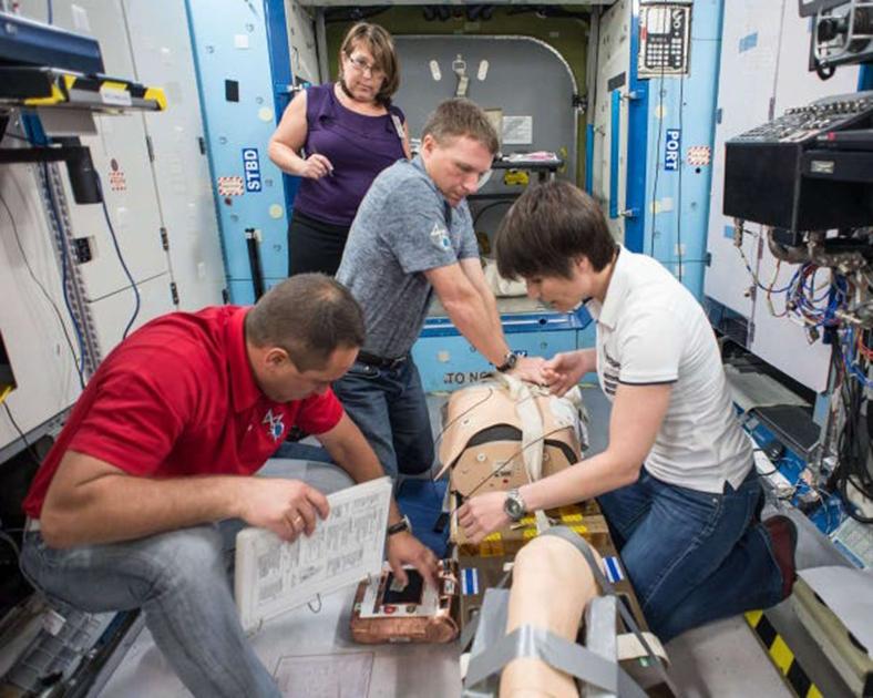 astronot tedavisi