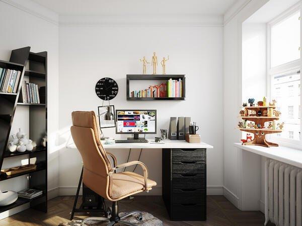 dekoratif home ofis fikirleri
