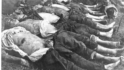 holocaust katliamı