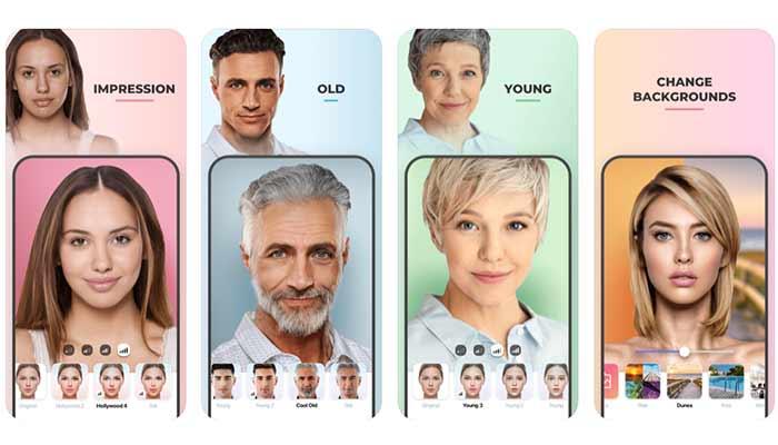 faceapp benzeri yaşlandırma uygulamaları android ve ios