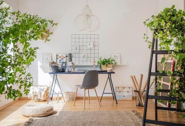 home ofis yeşillik kullanımı